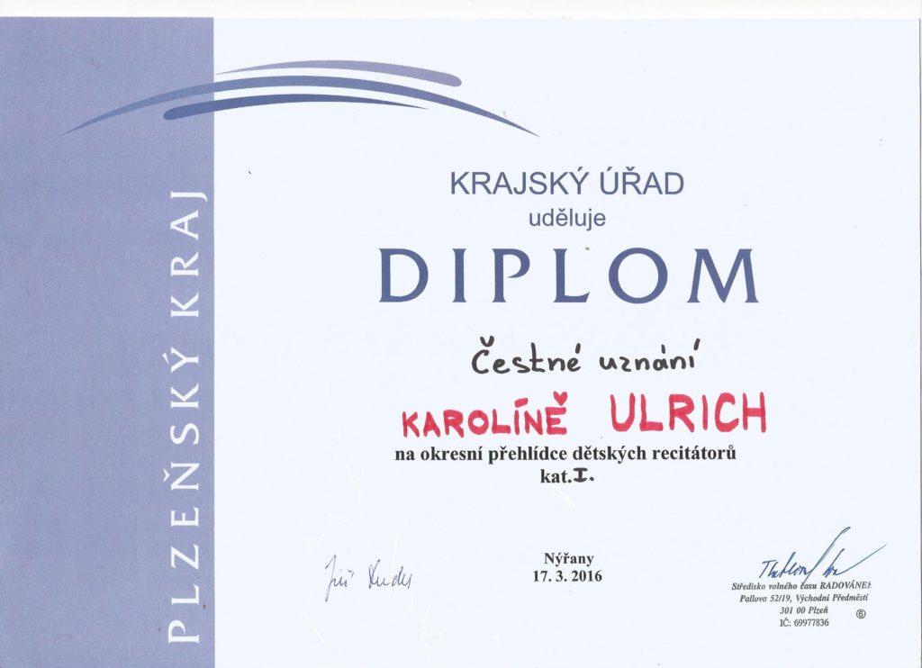 Diplom Karolka
